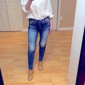 Silver Suki Super Skinny Jeans, size 26